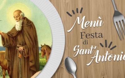 Menù – Festa di Sant'Antonio 2021